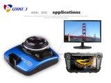 """昇進2.4 """" HD LCD車DVRのカメラのDvrs Gt300車DVR"""