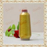 St Type Fluorescent Golden 150d Metallic Yarn