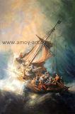 La reproducción de Rembrandt hechos a mano pinturas al óleo para la Decoración de pared