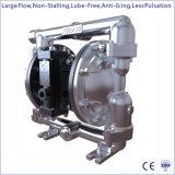 """1 """" Un grand débit, de l'air métallique exploités (alimenté) Double pompe à membrane"""