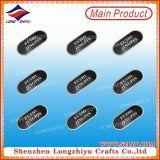 Handbag LuggageのためのカスタマイズされたMetal Logo Label