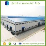 El surtidor de acero prefabricado más barato del taller del panel de emparedado de la estructura de edificio