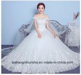 Sexy Strapless шаль устраивающих платье принцессы кружево свадебные платья