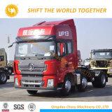 Shacman 6X4 Delong Euro3 CNG/LNG 탱크 트랙터 트럭