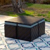 Tiefe Lagerungs-Aufenthaltsraum-Stühle mit Kaffeetische