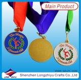 Sport-Medaillen-Preise für Kinder mit kundenspezifischem Firmenzeichen