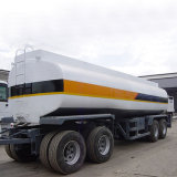 45000литров Tri-Axle топливный бак прицепа