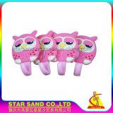 Commerce de gros Custormized Cute Cartoon Animal Meunier en silicone crochet, les meuniers de silicone