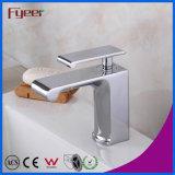 Fyeer 2016 Nouvelle robinet de lavabo en laiton Salle de bain Robinet de lavabo à cascade