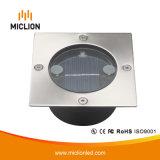 luz solar do diodo emissor de luz da indução de 3V 0.1W IP65 com Ce RoHS