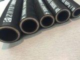Fr856 4sp tuyau en néoprène de spirale /le flexible hydraulique/flexible d'huile