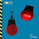 Keychain riflettente con l'indicatore luminoso del LED per sicurezza