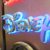 3D LED Light Painted Stainless Steel Waterproof Outdoor Sign Board