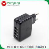 5V4.2A 4 cargador del USB del adaptador 21W del USB AC/DC para el enchufe de la UE