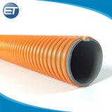 Spirale en PVC flexible haute pression Flexible renforcé d'aspiration avec le connecteur