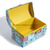 Personnaliser la caisse d'emballage emboîtée de mémoire de jouet de valise de carton de modèle
