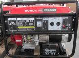 Honda를 위한 바퀴를 가진 6kw 가솔린 발전기