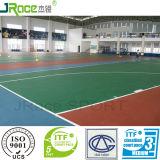 Construction et installation de la courbe de basket en plastique