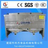 Machine2タンク2バスケットに電気深いフライヤーをする商業電気フライヤーのステンレス鋼のポテトチップ