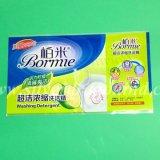 La Cina ha fatto i manicotti restringibili per il contrassegno in bottiglia della bevanda
