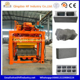 Qt4-25建築材料の機械装置によって圧縮される地球は煉瓦機械を妨げる