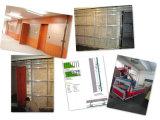 Teto HPL para revestimento de paredes hospitalares e públicas