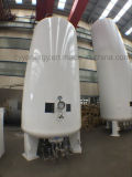 Бак для хранения углекислого газа аргона азота жидкостного кислорода ДОЛГОТЫ низкого давления