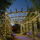 Meilleur choix fête de mariage Multicolorful sol chaîne solaire Strip décoration murale Ampoule de LED BALL Lampe Lanterne lumière