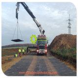 Fabbricazione provvisoria riciclata delle stuoie della strada del polietilene 500