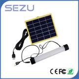 새로운 디자인 다중목적 재충전용 Portable LED 태양 빛