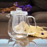 Cristalleria di vetro della tazza di tè di alta qualità con la maniglia ed il coperchio
