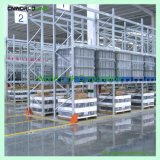 頑丈な倉庫の鋼鉄棚付けパレット倉庫の棚
