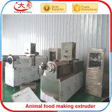 Verdrängte Haustier-Hundekatze-Fisch-Lebensmittelproduktion-Zeile trocknen