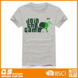 남자의 달리는 스포츠 게임 형식 t-셔츠