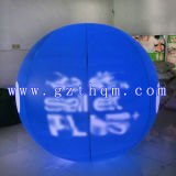 Blue Printing Pattern gonflable Lift Off Ball