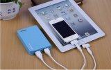 10000mAh Dual o carregador magro do banco da potência externa do diodo emissor de luz do USB (PB-YD15A)
