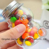 Pequenas Ostentar Candy Jar Super Flint garrafa de vidro