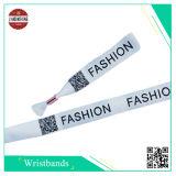 Event Wristband en polyester avec code différent