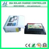 태양 에너지 시스템 (QWP-1420T)를 위한 12V/24V 20A 태양 관제사