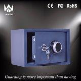 Contenitore d'acciaio solido di cassaforte di tasto del portaluminello della lamierina