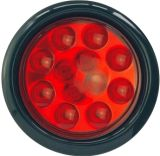 """LED 4"""" 둥근 정지 회전 테일 빛 Tl05"""