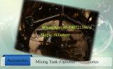 2000L High Speed Mixing Tank Cosmetic Mixing Tank