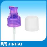 (T) 24/410 de bomba de creme cosmética plástica colorida com tampão