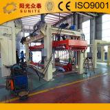 Machine de bloc de produits concrets d'autoclave