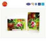 공장 가격 (무료 샘플)를 가진 Cmyk 4 색깔 Prinitng Atmel 스마트 카드 24c02 24c01
