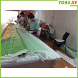 Напольное знамя сетки винила PVC Pringitng Inkjet рекламируя материала