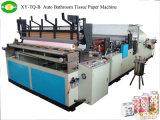 Tipo de producto completo del tejido de Automatictoilet rodillo de tocador que hace la máquina