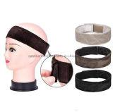 I capelli più veloci registrabili della testa della sciarpa della pinsa della parrucca di Hairband del velluto legano il colore degli accessori 3 di Wiggery della fascia di comodità