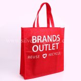 Kundenspezifische Eco freundliche mehrfachverwendbare Griff-Einkaufstasche, Förderung-Beutel