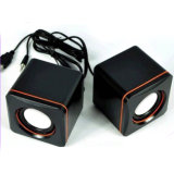 USB Home 2.0 Speaker de Use Portable com Logo Brand Printed (6030)